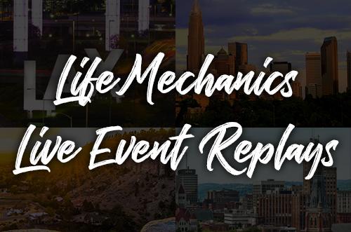 Life Mechanics | Live Event Replays course image